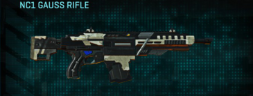 Indar dry ocean assault rifle nc1 gauss rifle