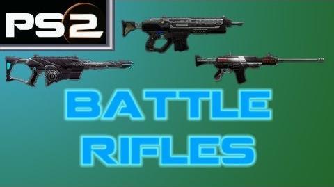 Planetside 2 - Battle Rifles (Eidolon, Warden, AMR-66) - Mr