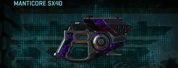 Vs loyal soldier pistol manticore sx40
