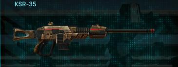 Indar plateau sniper rifle ksr-35