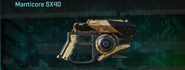 Sandy scrub pistol manticore sx40
