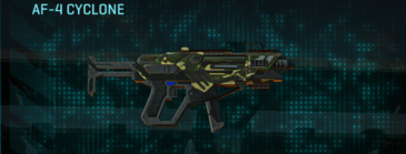 Temperate forest smg af-4 cyclone