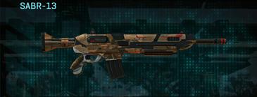 Indar rock assault rifle sabr-13