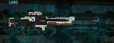 Esamir snow sniper rifle la80