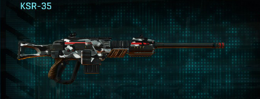 Indar dry brush sniper rifle ksr-35