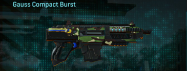 African forest carbine gauss compact burst