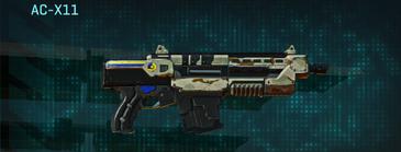 California scrub carbine ac-x11