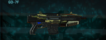 Temperate forest carbine gd-7f