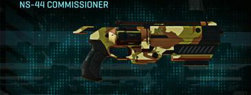 India scrub pistol ns-44 commissioner