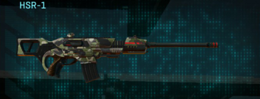 Woodland scout rifle hsr-1