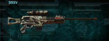 Arid forest sniper rifle 99sv