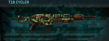 Jungle forest assault rifle t1b cycler