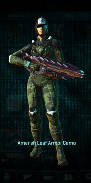 Vs amerish leaf combat medic