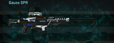 Esamir ice sniper rifle gauss spr