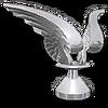 Chrome Wings Hood Ornament