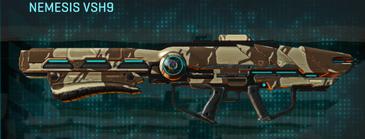 Indar scrub rocket launcher nemesis vsh9