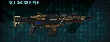 Indar plateau assault rifle nc1 gauss rifle