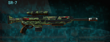 Amerish forest sniper rifle sr-7