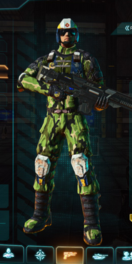 Nc jungle forest combat medic