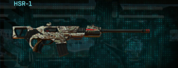 Arid forest scout rifle hsr-1