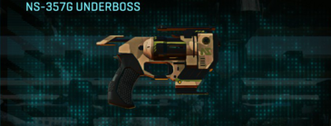 Indar plateau pistol ns-357g underboss