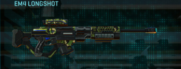Jungle forest sniper rifle em4 longshot