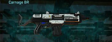 Esamir snow assault rifle carnage br