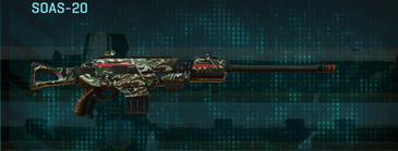 Scrub forest scout rifle soas-20