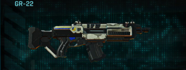 Indar dry ocean assault rifle gr-22