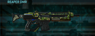 Jungle forest assault rifle reaper dmr