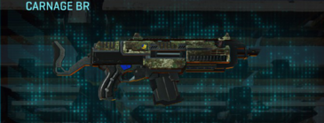 Pine forest assault rifle carnage br