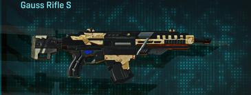Sandy scrub assault rifle gauss rifle s