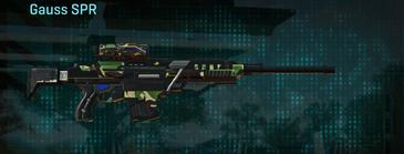 African forest sniper rifle gauss spr