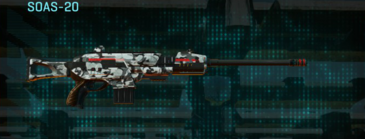 Forest greyscale scout rifle soas-20