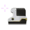 Icon WeaponAttachment common ReflexSight 002 cross