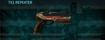 Indar plateau pistol tx1 repeater
