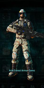 Nc arid forest combat medic