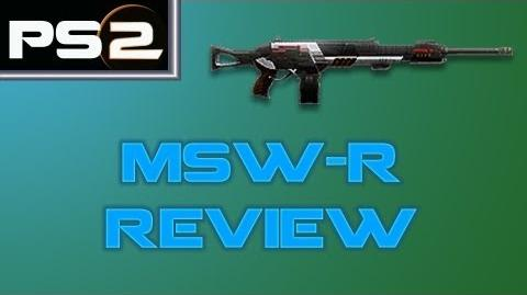 Planetside 2 - MSW-R Review - Mr