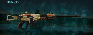 Sandy scrub sniper rifle ksr-35