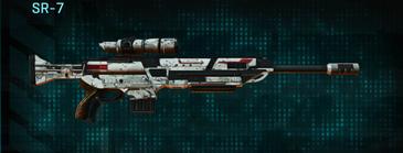 Rocky tundra sniper rifle sr-7