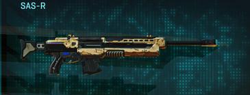 Sandy scrub sniper rifle sas-r