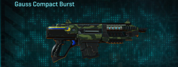 Amerish forest carbine gauss compact burst