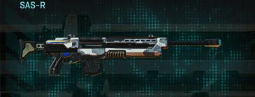 Esamir ice sniper rifle sas-r