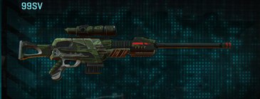 Amerish leaf sniper rifle 99sv