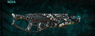 Snow aspen forest shotgun nova