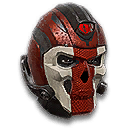 Icon helmet tr heavy banded skull 128x128
