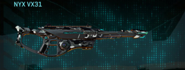 Indar dry brush scout rifle nyx vx31