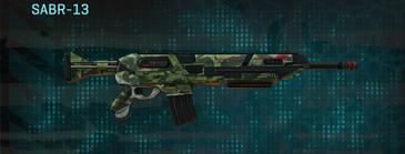 Amerish forest assault rifle sabr-13