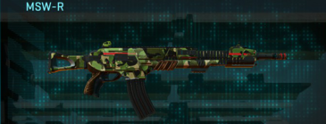 Jungle forest lmg msw-r