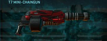 Tr zebra heavy gun t7 mini-chaingun
